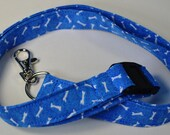 Dog Bone Lanyard - ID Holder