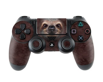 Sony PS4 Controller Skin Kit - Sloth by The Mountain - DecalGirl Decal Sticker
