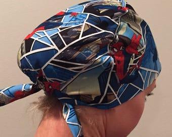 Spiderman • Pixie Tie Back