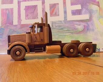 Wood Semi Truck #31