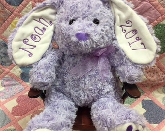 Personalized Embroider Easter Bunnies!
