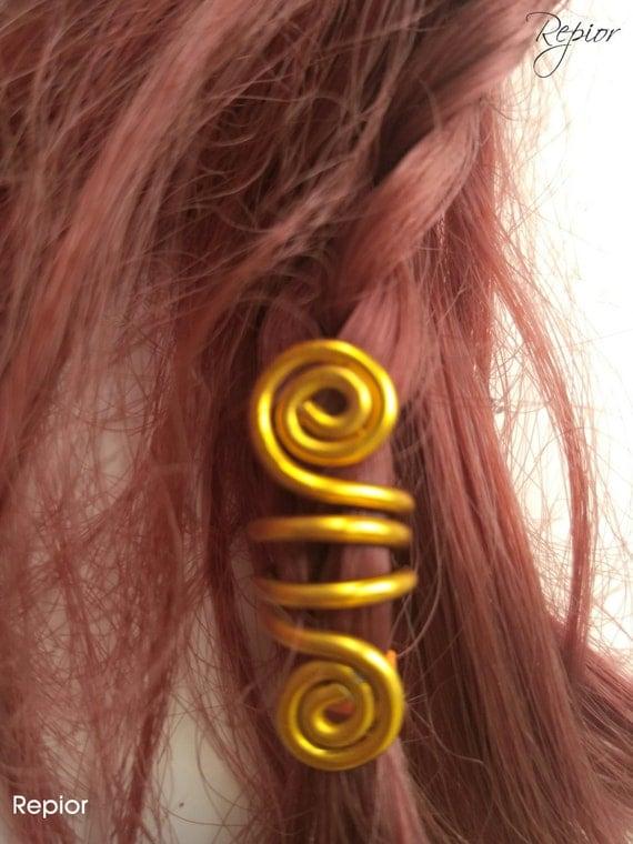 Perle de cheveux 2. Bijoux de cheveux Accessoires cheveux. \u2022 Barbe perles  Perles de