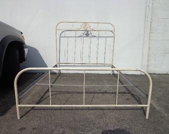 Antique bed frame Etsy