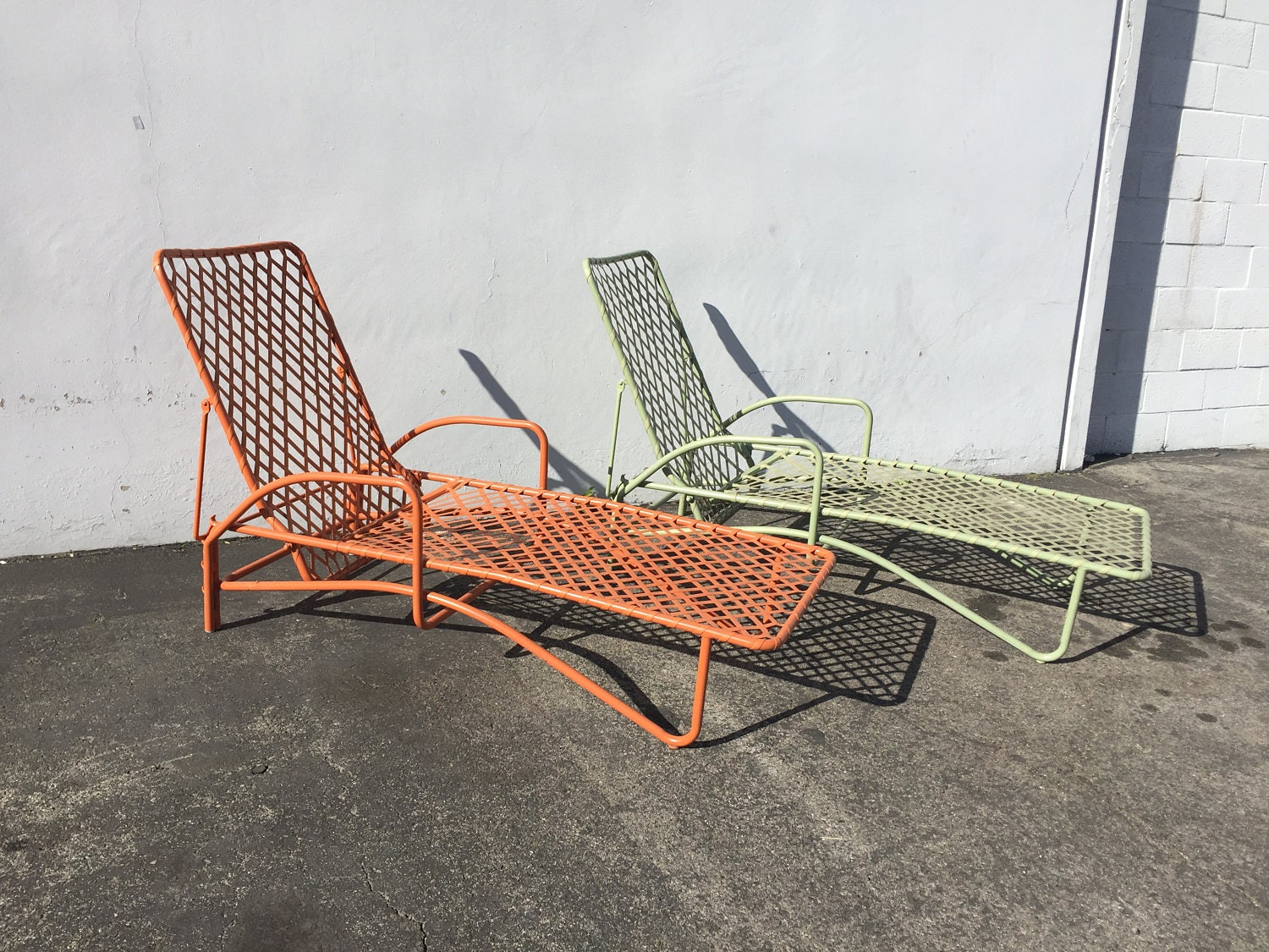 vintage mid century modern patio furniture. Brown Jordan Tamiami Adjustable Chaise Lounge Pool Patio Chair Mid Century Modern Outdoor Furniture Vintage Vinyl Lace Strap Midcentury With D