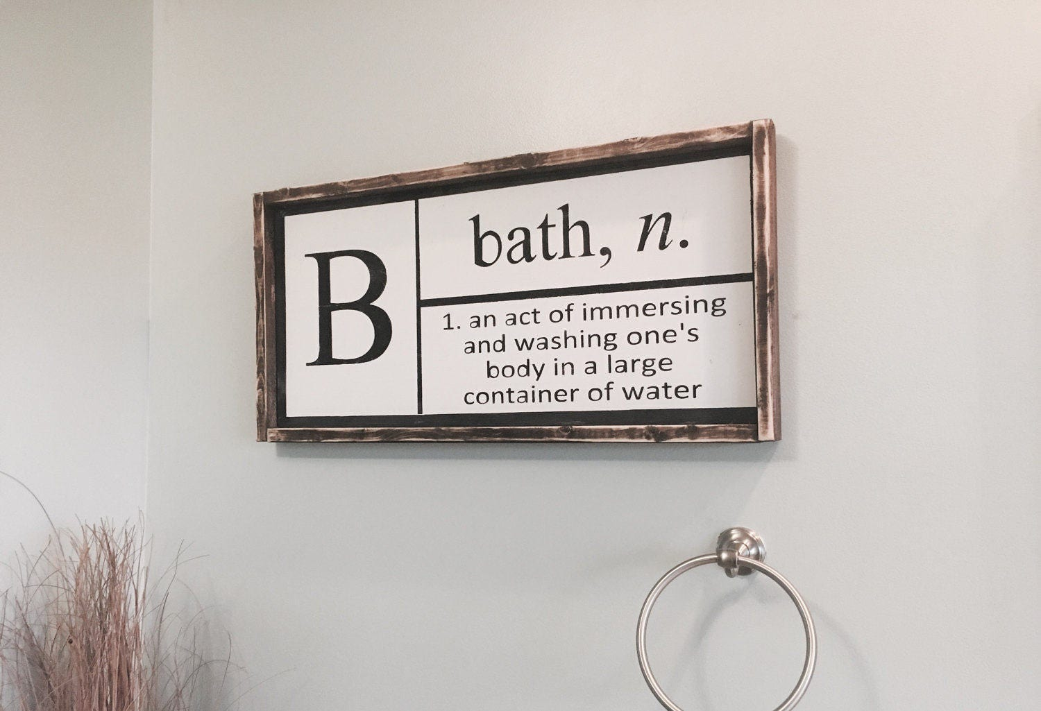 Definition Of Bath Sign