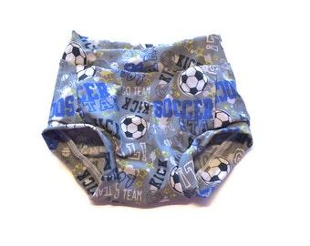 Soccer Kids Swim Trunks, Swimsuit. Swimwear