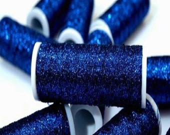 Embroidery Thread Metalux Deep Blue Sea Metallic - 60 Metres per Reel - suitable for Needlework and Embroidery