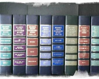 14 Vintage Reader's Digest Condensed Books DECORATIVE COVERS!