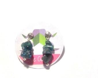Apatite Blue Earrings