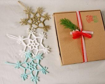 Christmas home - Crochet home decor-home decor- hostess gift- Gift for her- gift for home