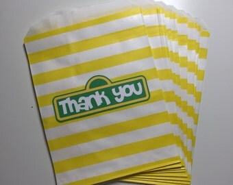 Sesame Street Favor/Treat Bags