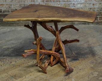 Tangled Juniper Table Base - DIY Natural Driftwood Furniture - Live Edge Rustic Side Or End Tables