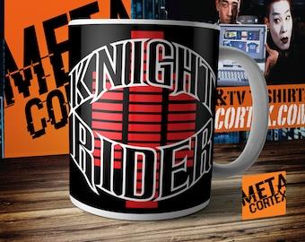 Knight Rider - KITT David Hasselhoff Retro 80s TV Series Mug