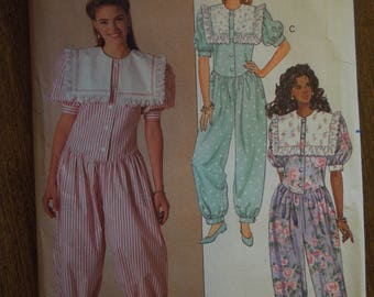 Butterick 5353, jumpsuit, sizes vary, UNCUT sewing pattern, craft supplies, misses, womens