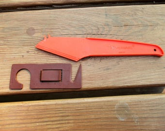 Tupperware Letter Opener 698-14 and Cheese Knife 1223-4