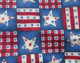Red White & Blue Stars Stripes