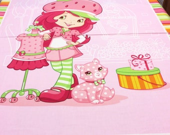 Strawberry Shortcake Panel 23552 SPX Patchwork Quilting Fabric