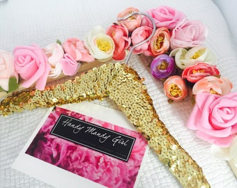 Sequin hanger for babies- hangers for fashionistas-The perfect gift