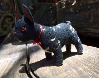 Custom handmade puppy dog plushy doll