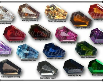 Loose Coffin Gemstones