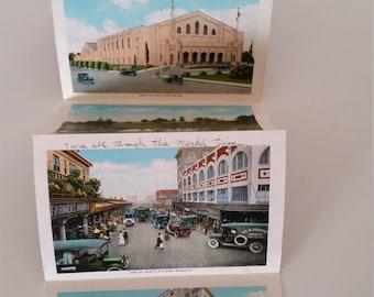 Postcard Souvenir Folder of Seattle, Washington.  Two Sets. Commercial Seattle and Souvenir Folder.