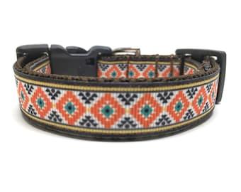 Preppy Dog Collar Small Dog Collar Adjustable