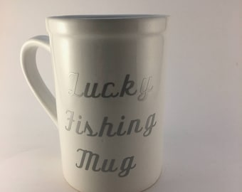 Fishing Mug, Coffee Mug, Funny Mug, Fishing Gift, Mug, 16 Ounce Mug