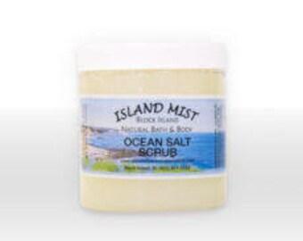 Ocean Salt Scrub for Bath or Shower  14 oz