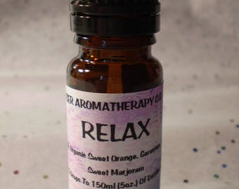 Relax Aromatherapy Diffuser Blend - Pure Essential Oil Blend - Holistic - Diffuse