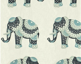 Elephant Stitch Embroidered Pillow Cover