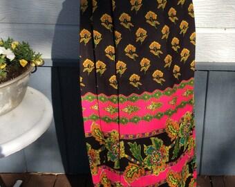 Vintage Maxi skirt, Jonathan Logan , new issues brand, small