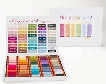 The Colours of Moda Aurifil Thread Case