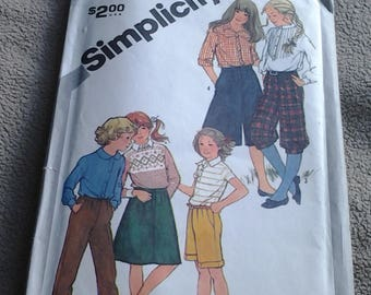 Simplicity 5314, Girl's Pants, Knickers, etc.
