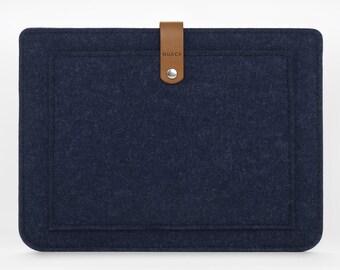 iPad Case - iPad Mini Cover - iPad Mini Leather - Leather and Felt Case - iPad Mini Sleeve