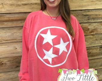 Tristar Comfort Color Sweatshirt ~ christmas gift ~ Tennessee ~ Special ~ Fall Sweatshirt ~ Christmas ~ Thanksgiving