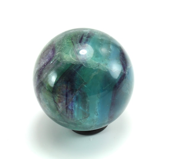 Green Blue Fluorite Sphere, M-2024