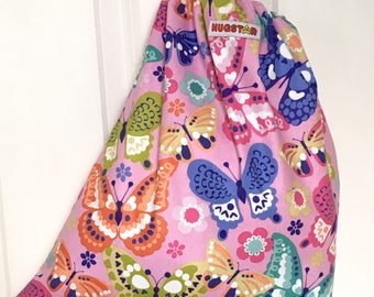 Girl's Swim Bag, Butterfly, PE bag.