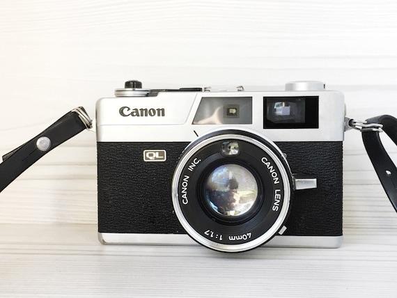 Canon Canonet QL 17 rangefinder camera  - Vintage Camera - Poor Man's Leica