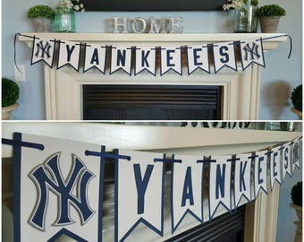 New York Yankees, baseball, mancave, garage, party, birthday party