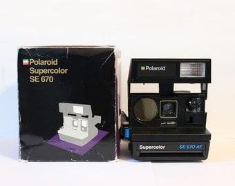 Polaroid Supercolor Sonar - Special Edition - Includes original box