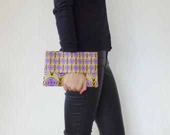 African clutch, wrist wallet, ethnic clutch bag, purse, gift for her, wallet purse, present, pouch bag, african fabric, colorful, mylmelo