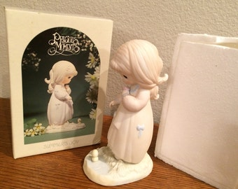 Precious Moments 'Summer's Joy' #12076 LE In Series Of Seasons-In Original Box! 1984