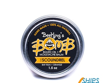"BeeKing's ""Scoundrel"" Beard Balm"