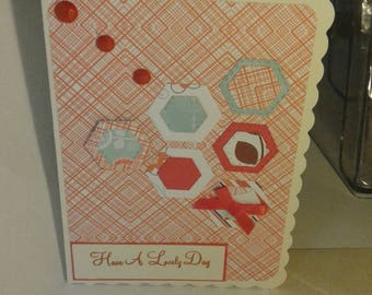 Greeting card 'Have a lovely day'