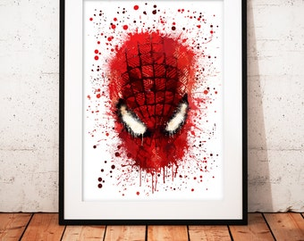 Spider-Man- limited edition print 210 x 297 mm, numbered and signed