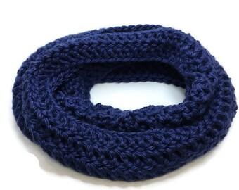 Chunky Crochet Infinity Scarf | Women's Crochet Scarf | Crochet Scarf | Gift For Her | Winter Scarf | Women's Accessories | Handmade
