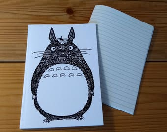 Totoro notebook (A6 Lined)