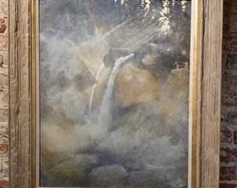 """Phil Nethercott - Misty Morning - original Oil painting  original oil on board size 30x24"""" - Signed"""