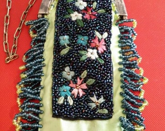 1920s Flapper Bag Upcycled