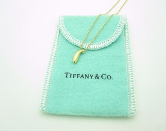Tiffany & Co. 18k Yellow Gold Frank Gehry Fish Pendant Necklace